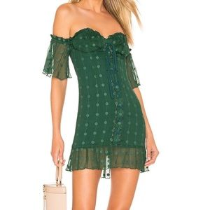 House of Harlow green dress